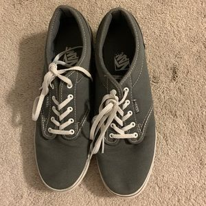 VANS • size 9.5 • worn twice !!
